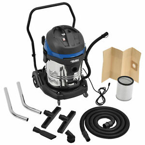Wet Dry Vacuum 16 Gallon Stainless Steel Lot Of 1