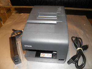 Epson Tm h6000iv M253a Pos Receipt Printer W Serial Usb Tested Working