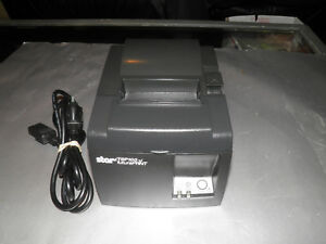New Star Micronics Tsp100 143lan Point Of Sale Receipt Printer W Power Cord