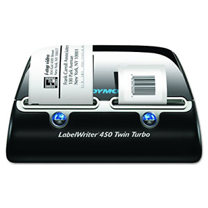 Dymo Label Writer 450 Twin Turbo Label Printer 71 Labels Per Minute 1752266