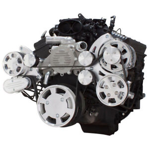 Serpentine System For Chevy Lt1 Generation Ii Power Steering Alternator