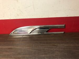 1952 Pontiac Chieftain Rh Front Fender Trim Nos 1118