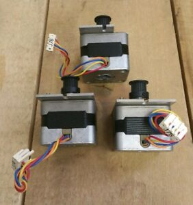 Sanyo Denki 103 591 0153 Stepsyn 9 Deg step Stepper Motor Stepping lot Of 3