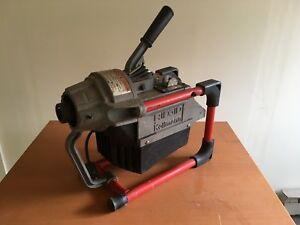 Ridgid K 60sp Sectional Drain Cleaning Machine Good Working Order