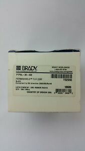 Brady Permashield Tls 2200 Ptpsl 20 422 White B 422 Thermal Printer Label 100