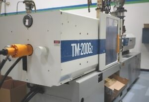 200 Ton Toyo Tm 200g2 Plastic Injection Molding Machine