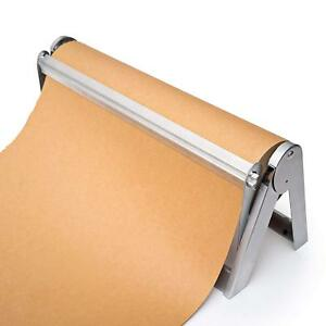 Wrapping Paper Roll Cutter Holder Dispenser For Butcher Freezer Craft Paper
