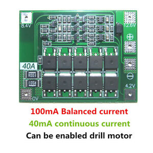 5 20pcs 3s 40a Battery Charger Module Pcb Bms Protection Board Balanced Version