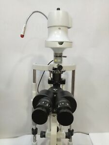 Slit Lamp With Applanation Tonometer 3 Steps With Manual Table