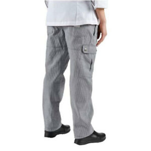 Wholesale P023ht Chef Revival Houndstooth Cargo Pants Size Xl
