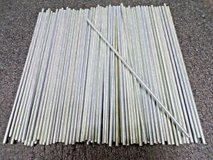 1 4 20x1 Ft Threaded Rod Steel Low Carbon Zinc Plated 100 Pk