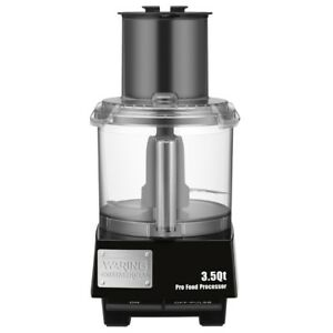 Waring Commercial 3 1 2 Quart Food Processor 1 Each 1 Pack