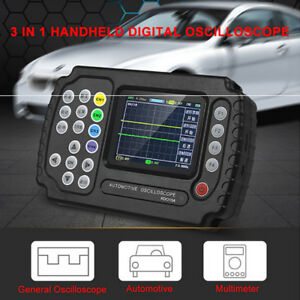 Ado102 Handheld Car Digital Storage Oscilloscope 100msa s Automotive Multimeter