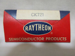 Rare New In Package Raytheon Classic Germanium Junction Transistor Ck721