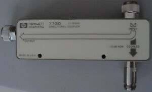 Hp Agilent 773d 2 18 Ghz 20db Directional Coupler W Manuals Nist Calibrated