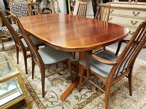 Koefoeds Hornslet Mid Century Rosewood Dining Table And Chairs
