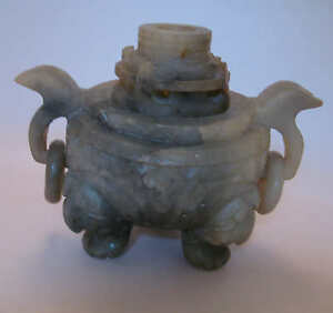 Very Old Jade Incense Burner