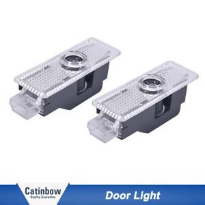 Pair Logo Led Step Door Light Ghost Shadow Laser Projector For Bmw Mperformance