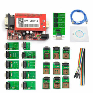 V1 3 New Upa Usb Programmer With Full Adaptors With Nec Function Ecu Chip Tuning