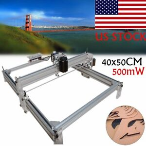 Laser Engraving Machine 500mw Pcb Milling Wood Router Desktop Diy Printer Gb