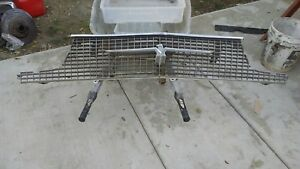 1966 Ford Thunderbird Grill And Emblem