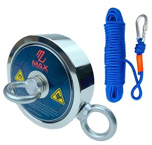 Extreme Pull Force 1500 Lb Pulling Strength Strong Neodymium Fishing Magnet