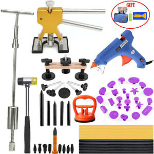 Us Pdr Tools Dent Puller Lifter Paintless Repair Kits Hail Removal Hammer Glue