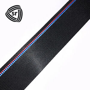 Bmw Competition Style Seat Belt Webbing Replacement New Strap Mail In