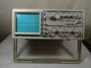 Ez Os 5060a Analog Oscilloscope 2 Channel Dual Trace 60mhz Works Fine