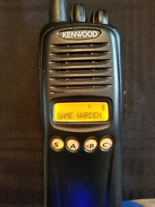 Kenwood Tk 2180 Vhf 136 174mhz Radio W Quick Charger Antenna Battery Working