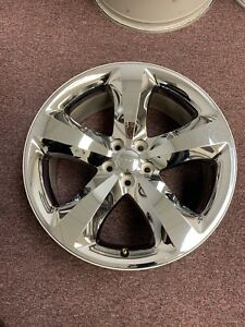 Set Of 4 Used 20 20 X 8 Dodge Charger Factory Oem Chrome Wheels Rims 5x4 5