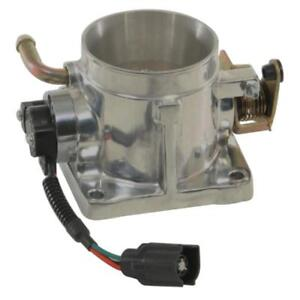 Summit Racing 227200 Throttle Body 65mm Aluminum Polished Ford Mustang 5 0l Each