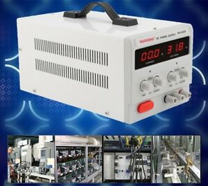 Precision Variable Laboratory Dc Power Supply With Led Digital Display Be