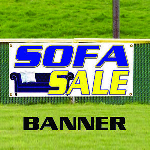 Sofa Sale Couch Furniture Leather Retail Indoor Outdoor Vinyl Banner Sign