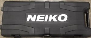 Neiko Electric Demolition Jack Hammer With Point And Flat Chisel Bits