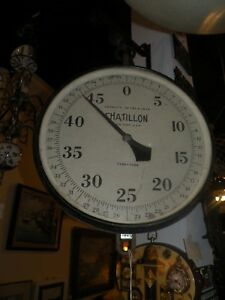 Vintage Chatillon 150 Lb Hanging Scale