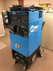 Miller Syncrowave 350 Lx Water cooled Tig Welding Welder W Torch