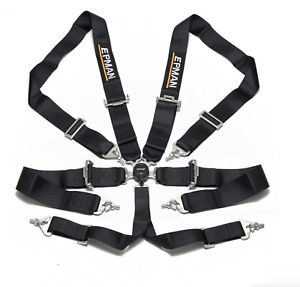 Universal 6 Point 3 Camlock Quick Release Racing Seat Belt Harness
