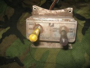 Meyers Plow Controller Switch Snow Plow Hydraturn Vintage E47 Chevy Ford Dodge 4