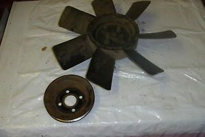 Amc Eagle Concord Spirit Dj Vw Audi 4 Cyl Engine Fan With Adapter And Pulley