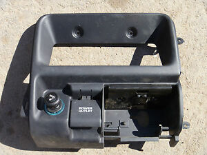 1996 1998 Jeep Grand Cherokee Stereo Bezel Center Dash Interior Ash Tray Black