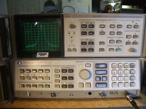 Hp 8568a Spectrum Analyzer 100hz 1 5ghz Opt 8568ab 85662 60093 85662 60094