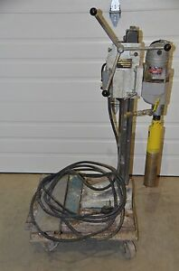 Milwaukee Core Drill Rig 4034 2 W 3 X 15 Ddm Bit 240v 4034