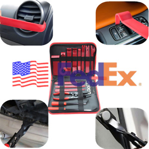 Usa 19x Car Interior Panel Removal Tool Retainer Clip Puller Light Housing Open