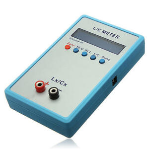 Lc200a Handheld Capacitance Inductance L c Meter Lcr Multimeter Ele Bridge