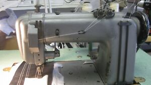 Singer 2 Needle With Gear Puller Model 300w 102 Sewing Machine