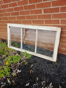 3 Pane Wood Window Sash 18 X 37 1 2