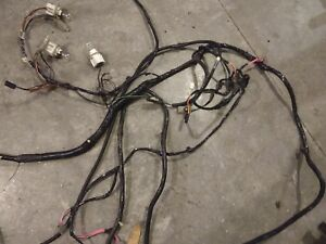 1988 1987 Thunderbird Turbo Coupe 2 3 Turbo Tail Light Harness