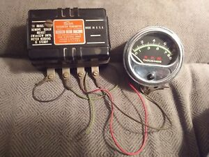 Vintage 1960 S 1970 S Sun Tach Eb 9a Transmitter 8 5k Green Line Tachometer