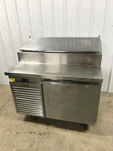 2016 48 Traulsen Refrigerated Pizza Sandwich Prep Table Tso48ht